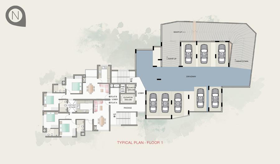 Typical Plan - Floor 1