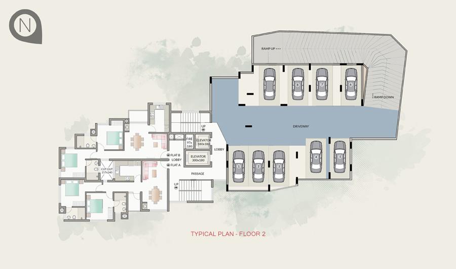 Typical Plan - Floor 2