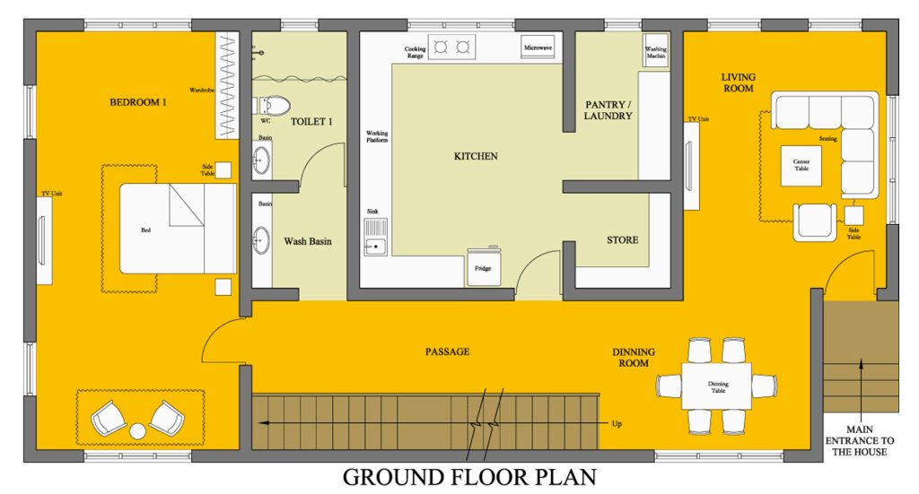 Understanding contemporary floor plans and their importance.