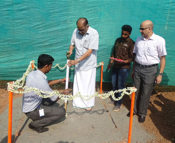 Ground Breaking - Space on Earth , Malaparamba,Calicut
