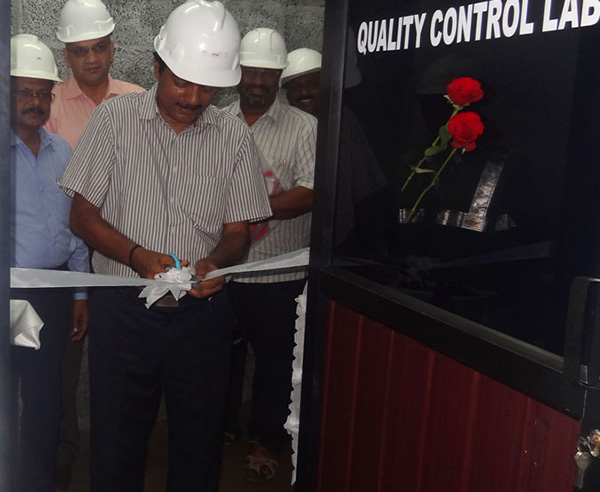 Quality Control Lab inauguration