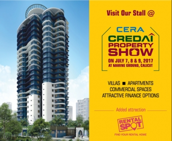 Cera Credai Property Show - July 7,8 & 9, 2017