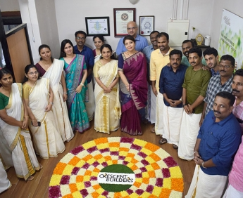 Onam celebration in our office