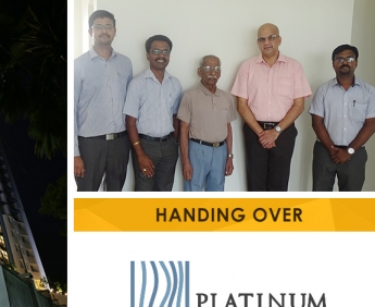 Platinum Crescent - Handing over