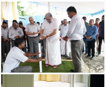 Ground Breaking & Site Office Inauguration– Triton Crescent.