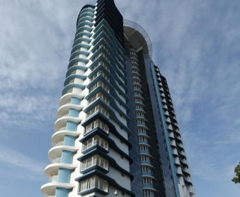Platinum Crescent - A view of the side side of the building.